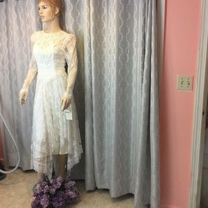 Vintage Look Wedding Dress NWT